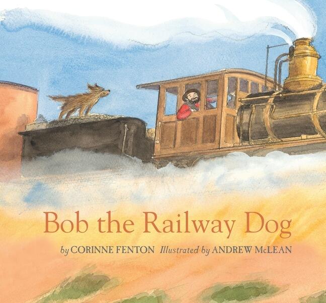 Bob the Railway Dog Melbourne Launch – Saturday, 1st August, 11.00 a.m. Railfan Shop, Mont Albert