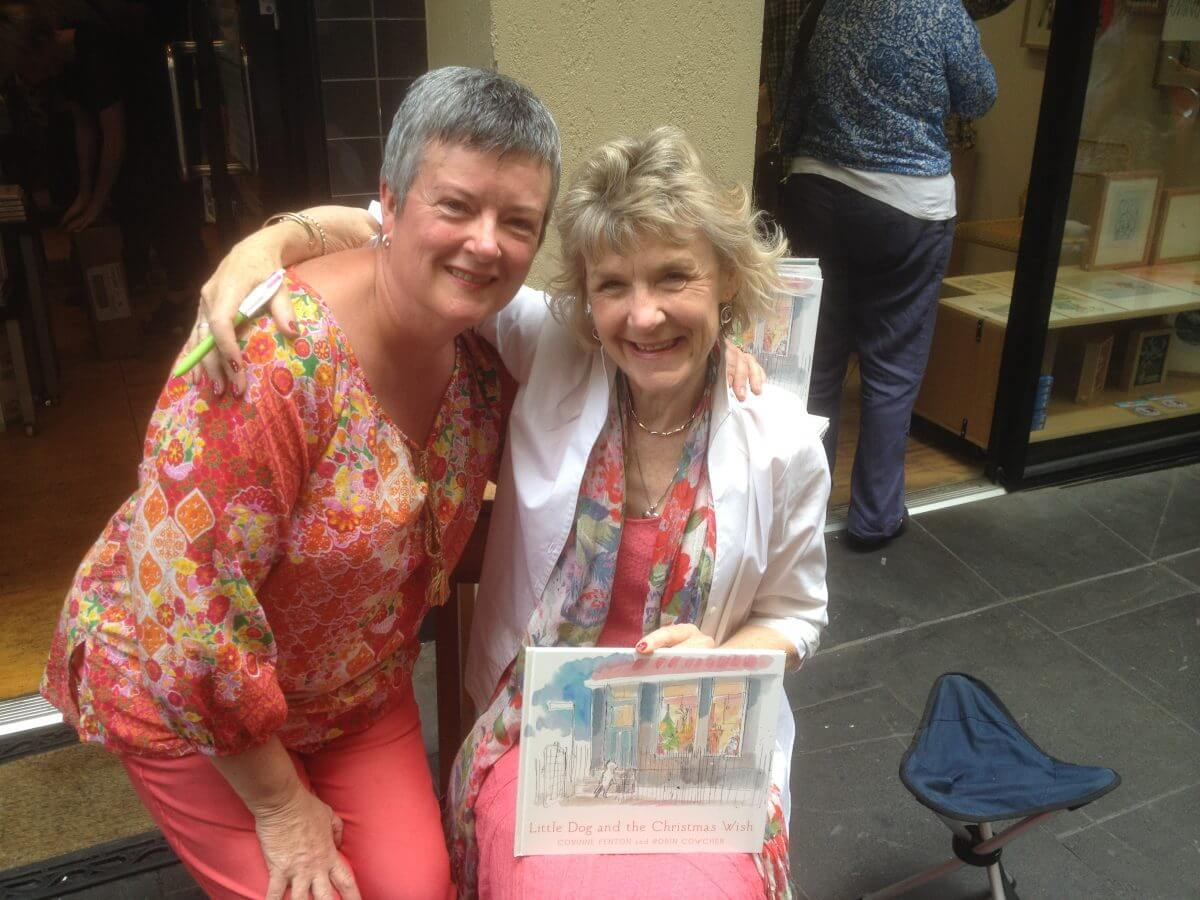 Showcasing Children's Author, bookseller and friend, Claire Saxby